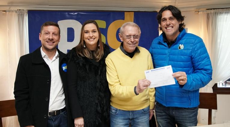 Telmo Kirst, Prefeito de Santa Cruz do Sul, Filia-se ao PSD