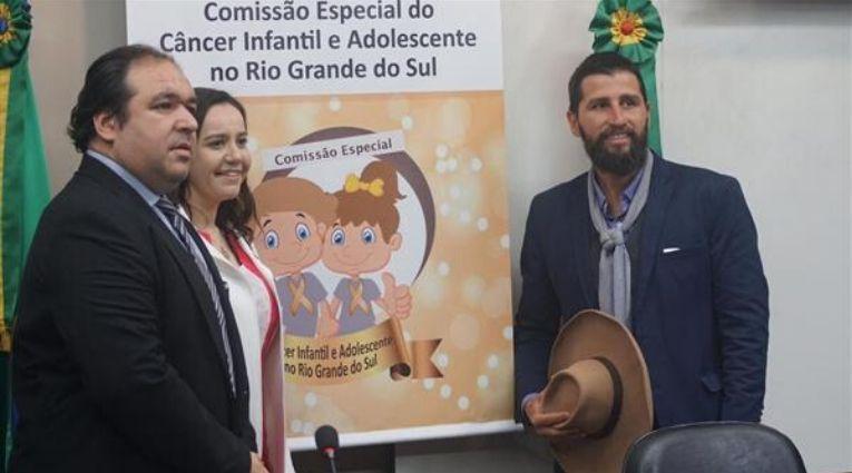Gaúcho da Geral é eleito vice-presidente da Comissão do Câncer Infantil