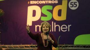 Mensagem de Alda Marco Antonio a todos os participantes do Encontro PSD Mulher em Porto Alegre