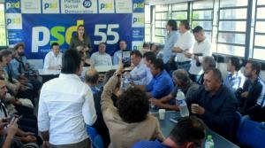 PSD RS recebe Gilberto Kassab e demais lideranças nacionais