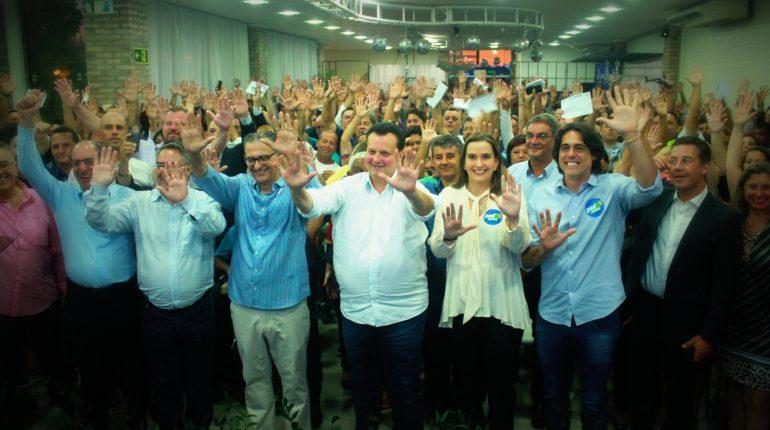 Ato de filiação em Canoas reuniu 600 pessoas