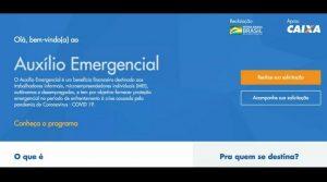 Trabalhadores informais, autônomos, desempregados e MEIs já podem solicitar o auxílio emergencial